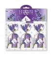 Conjunto de 3 saquitos rellenos de flor de Lavanda