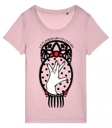 Camiseta La flamencura tó lo cura