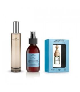Pack Perfume 233 100 ml + Ambientador de hogar Fresh air 150 ml + Ambientador coche Fresh air