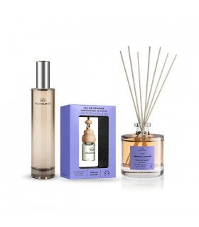 Pack Perfume 144 100 ml + Mikado Relaxing Lavender 100ml + Ambientador coche Relaxing lavender