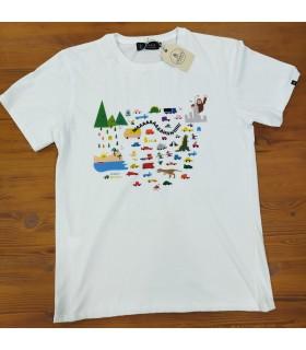Camiseta City vs Nature
