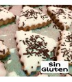 Triángulos de chocolate blanco SIN GLUTEN